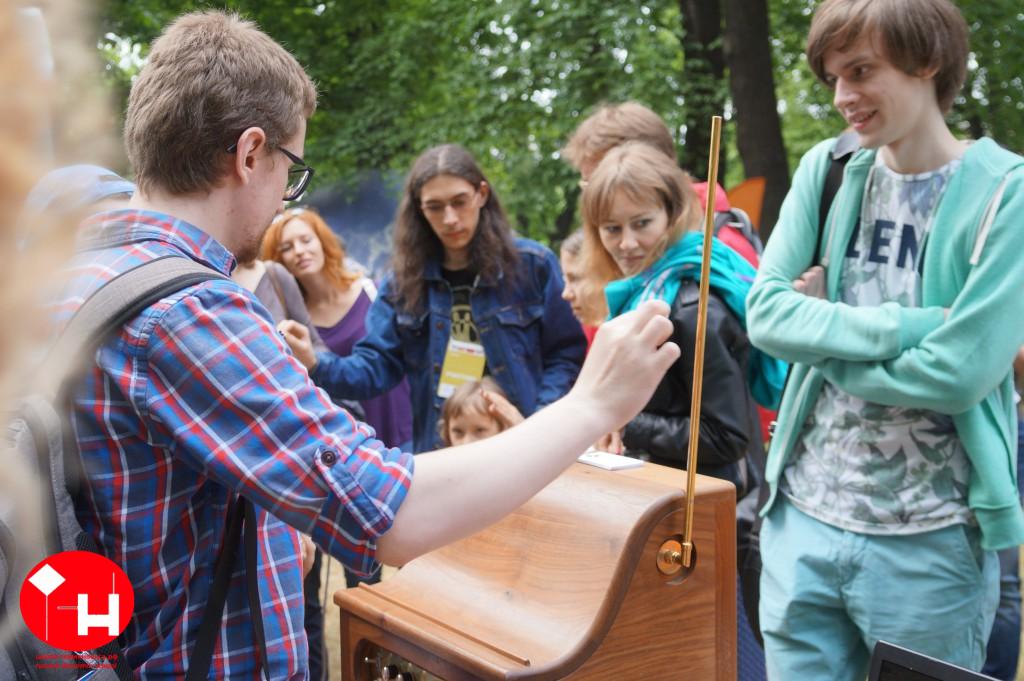 Школа терменвокса на фестивале STEREOLETO
