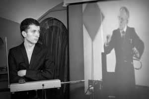 Петр Термен - руководитель Школы терменвокса