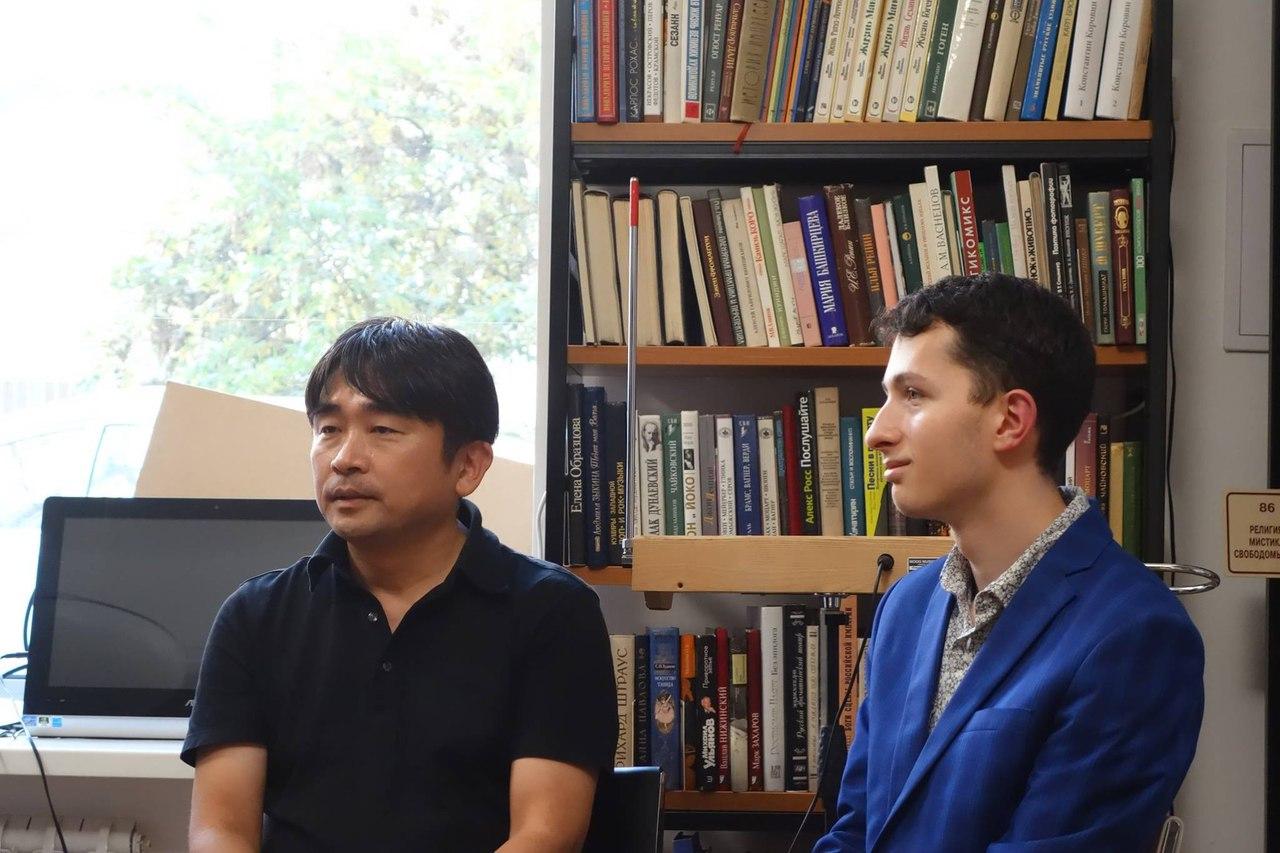 Мастер-класс Масами Такеучи в Школе терменвокса