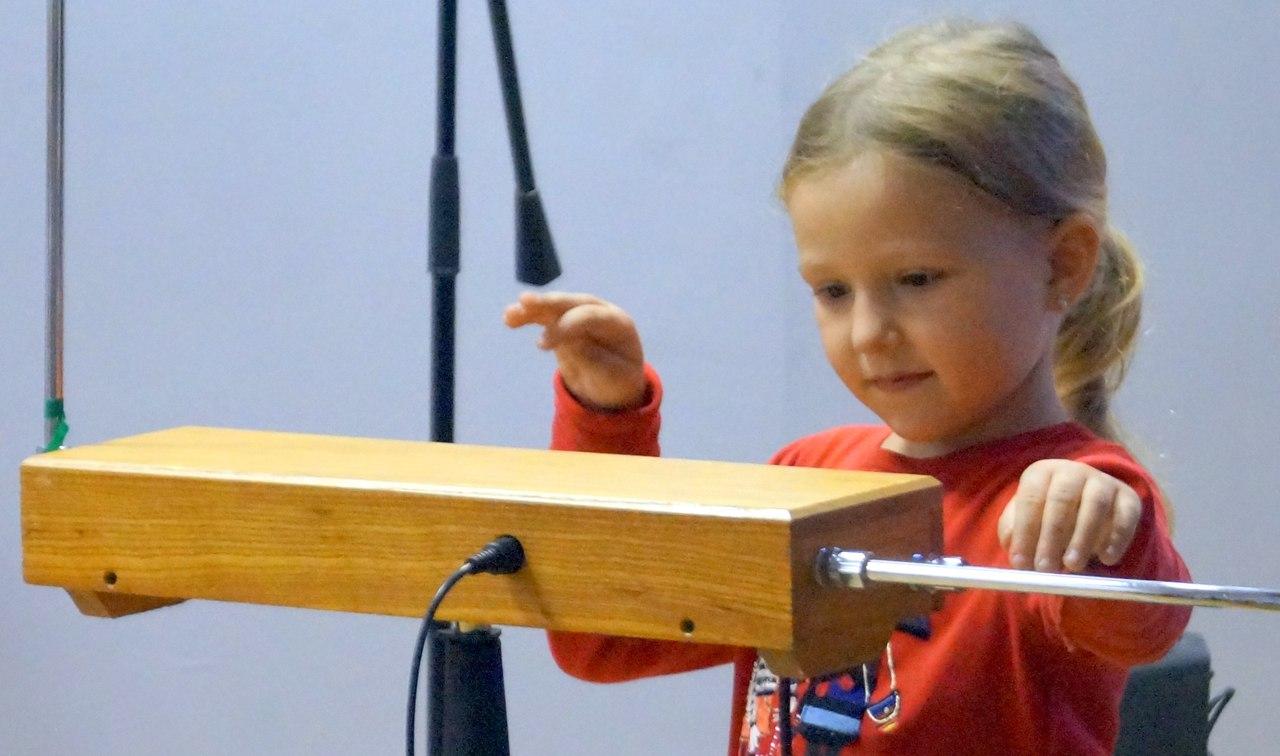 Детская школа терменвокса в Музее музыки ( Москва_